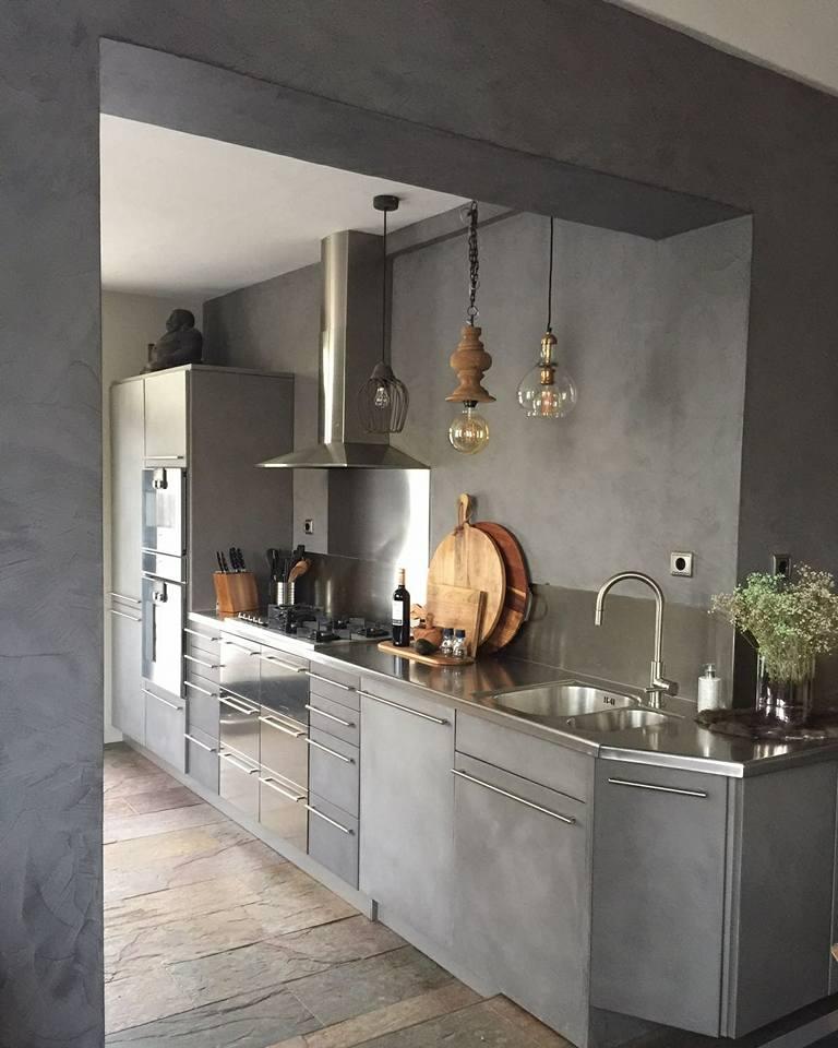 Betonlook keuken erica
