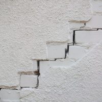 scheur in de muur emmen